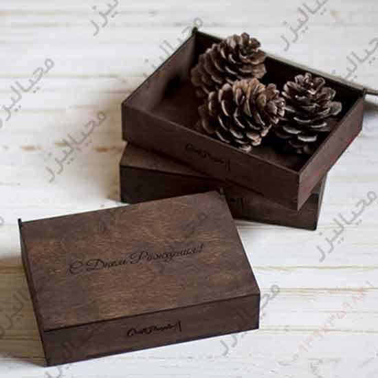 جعبه چوبی, باکس چوبی, بسته بندی چوبی, محیالیزر